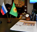 Оpening of Syrian Kurdistan representative office in Moscow (10.02.16)
