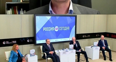 "BOOK ABOUT EVENTS IN DONBASS AND CRIMEA WAS PRESENTED AT THE INTERNATIONAL PRESS CENTER ""RUSSIA TODAY"""